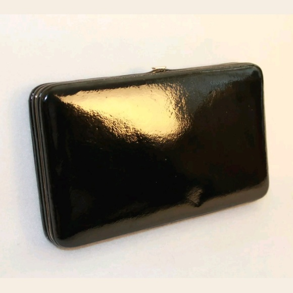 a86e5913668874 Halogen Accessories | Black Patent Leather Wallet | Poshmark